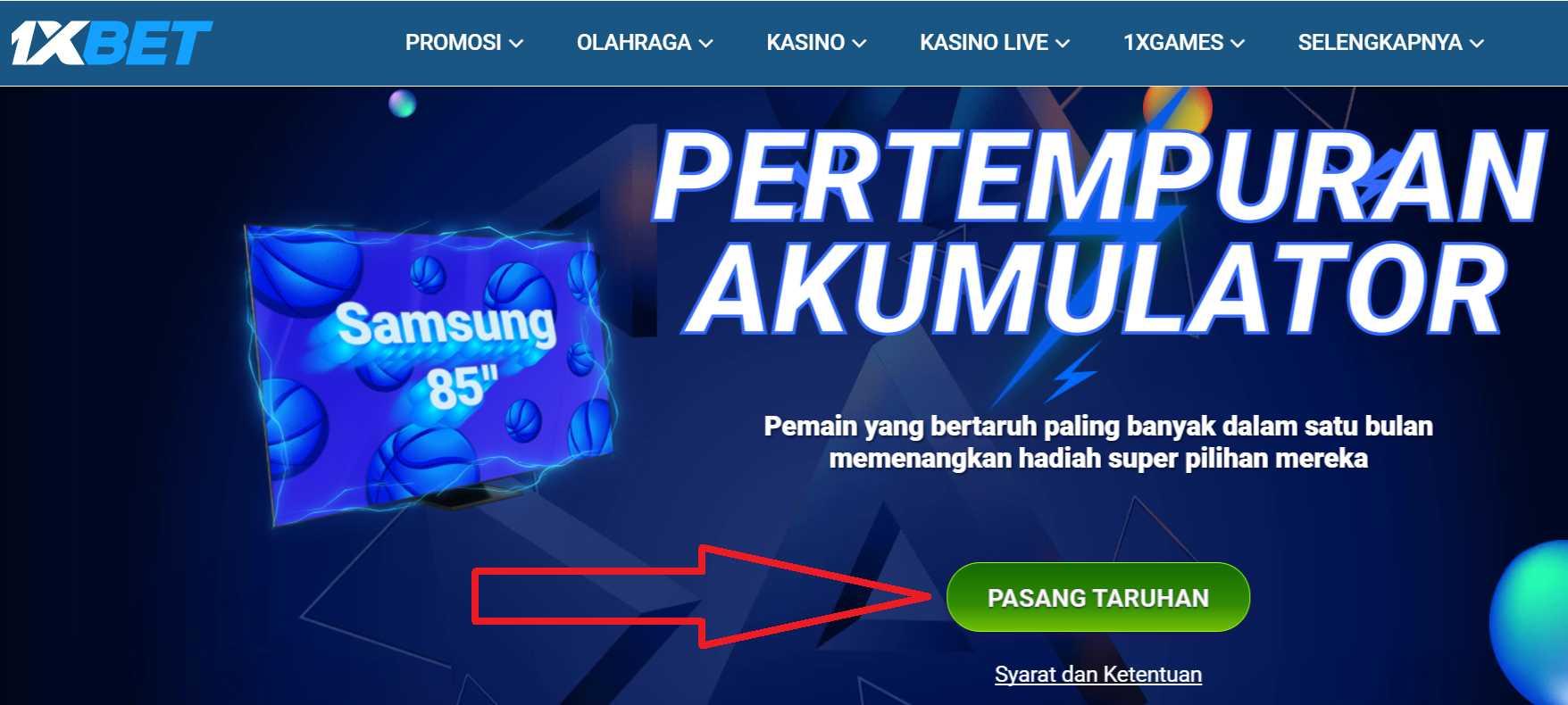 Informasi untuk Memperoleh Aplikasi Android 1xBet